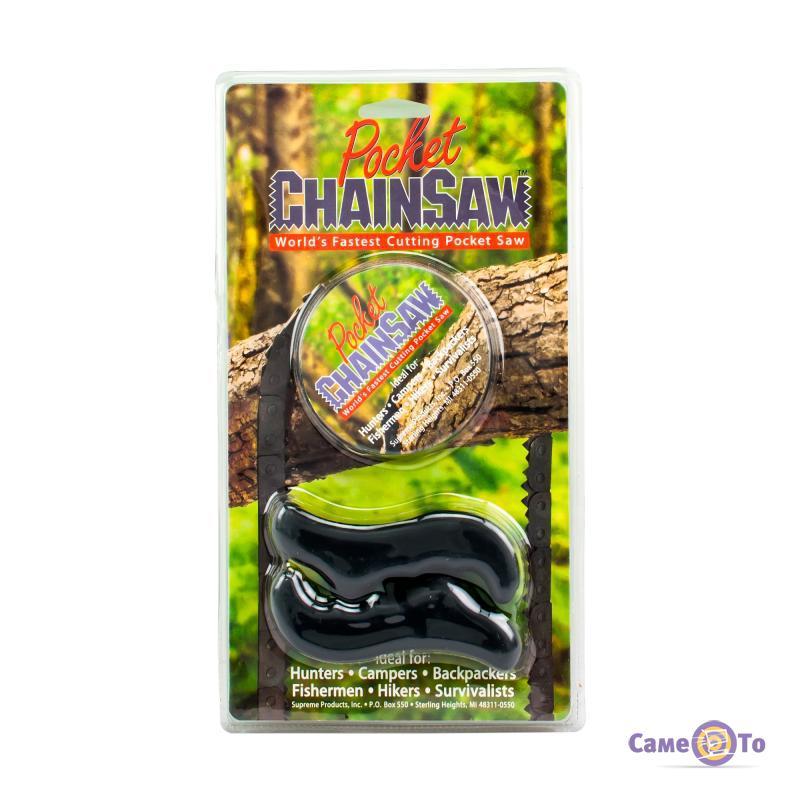 Туристическая карманная цепная пила из нержавеющей стали Pocket Chain Saw
