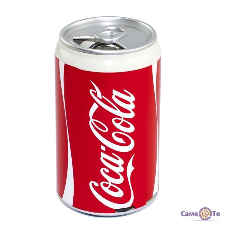Портативная музыкальная стерео колонка-банка с аккумулятором HLD-100 Fanta, Cola, Pepsi