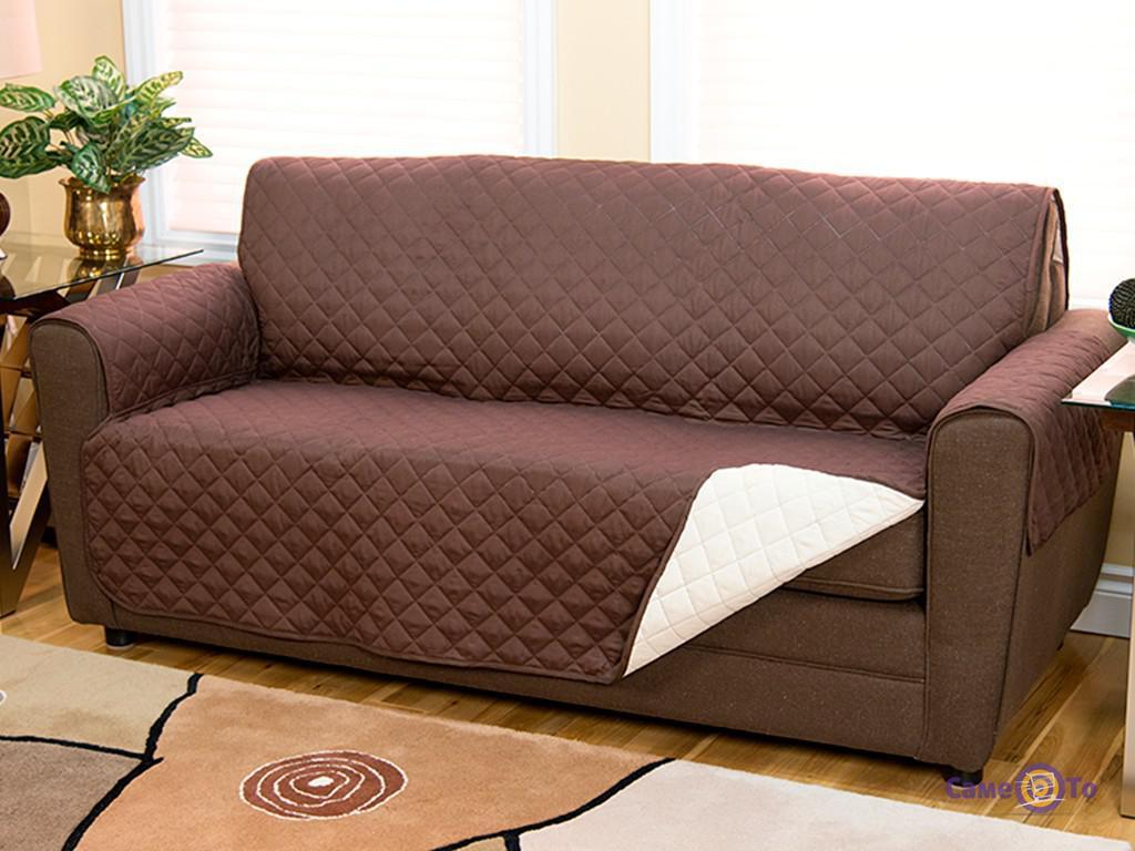 Накидка (покрывало) на диван двусторонняя Couch Coat