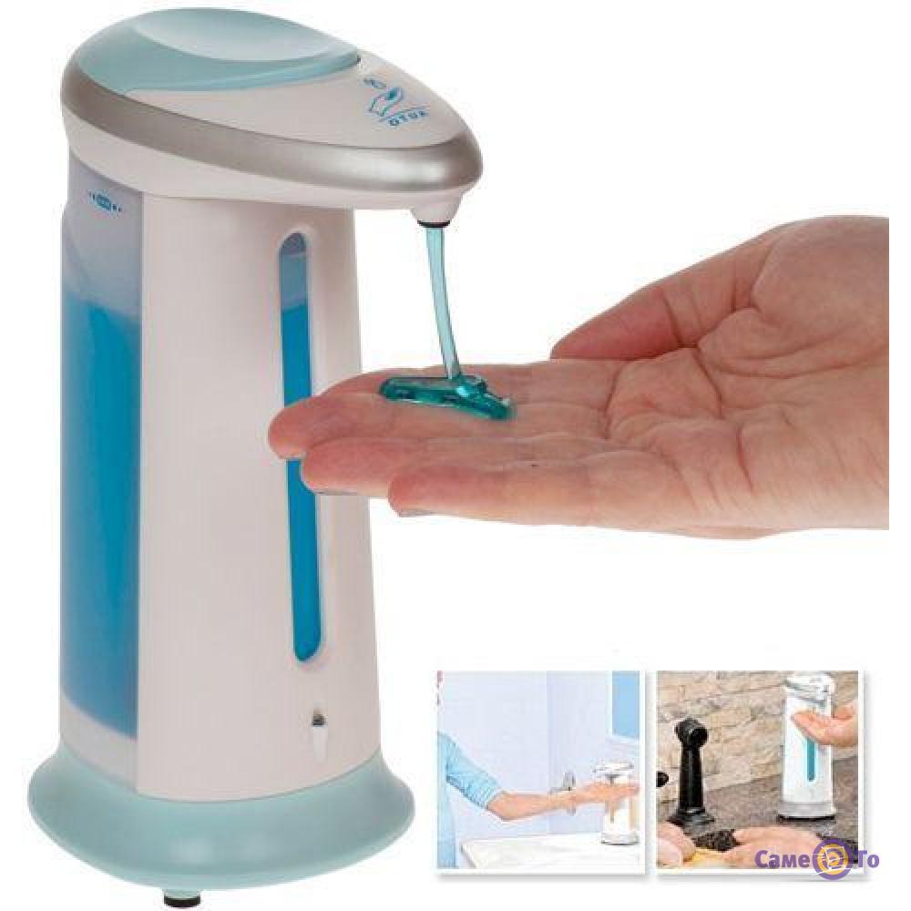 Сенсорный дозатор жидкого мыла Automatic Soap Dispenser