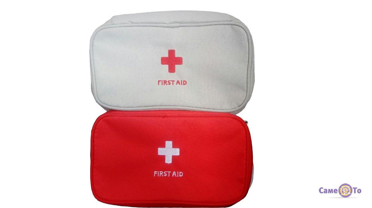 Походная мини аптечка-органайзер First-Aid Pouch Large