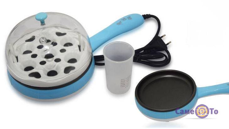 Многофункциональная электрическая мультиварка-яйцеварка Multifunction Steaming device