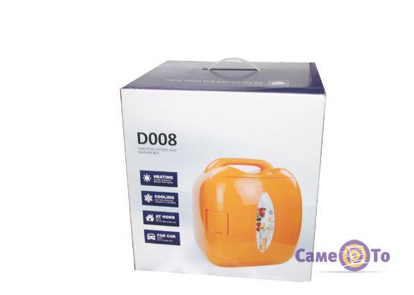 Маленький переносной автомобильный холодильник CONGBAO CB-D008, 7.8L