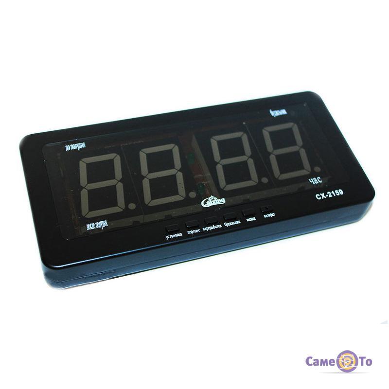 8255eaf7057c ... Автомобильные электронные настенно-настольные светодиодные часы Caixing  CX-2159 ...