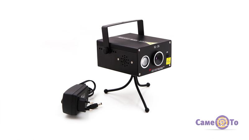 Светодиодная лазерная цветомузыка для вечеринок Laser Show System HL-26