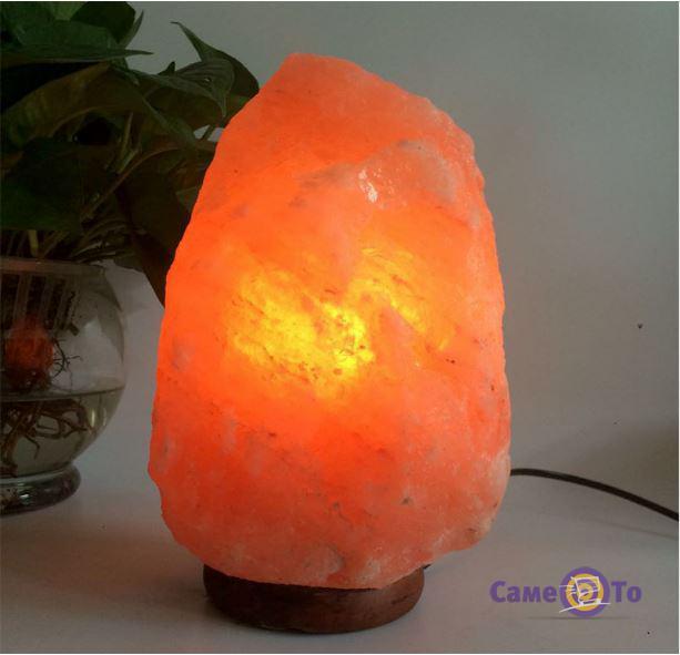Лампа-светильник из гималайской соли