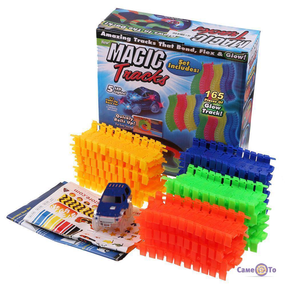 Детская игрушечная дорога Magic Tracks, 165 деталей