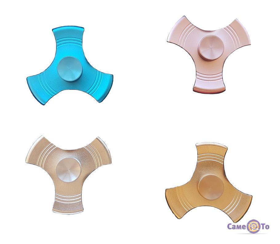 Металлический Hand spinner (Хенд спиннер) S-16 игрушка антистресс - finger spinner