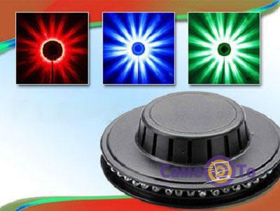 Вращающаяся подсветка (цветомузыка) Little Sun LED Lights, 48 светодиодов
