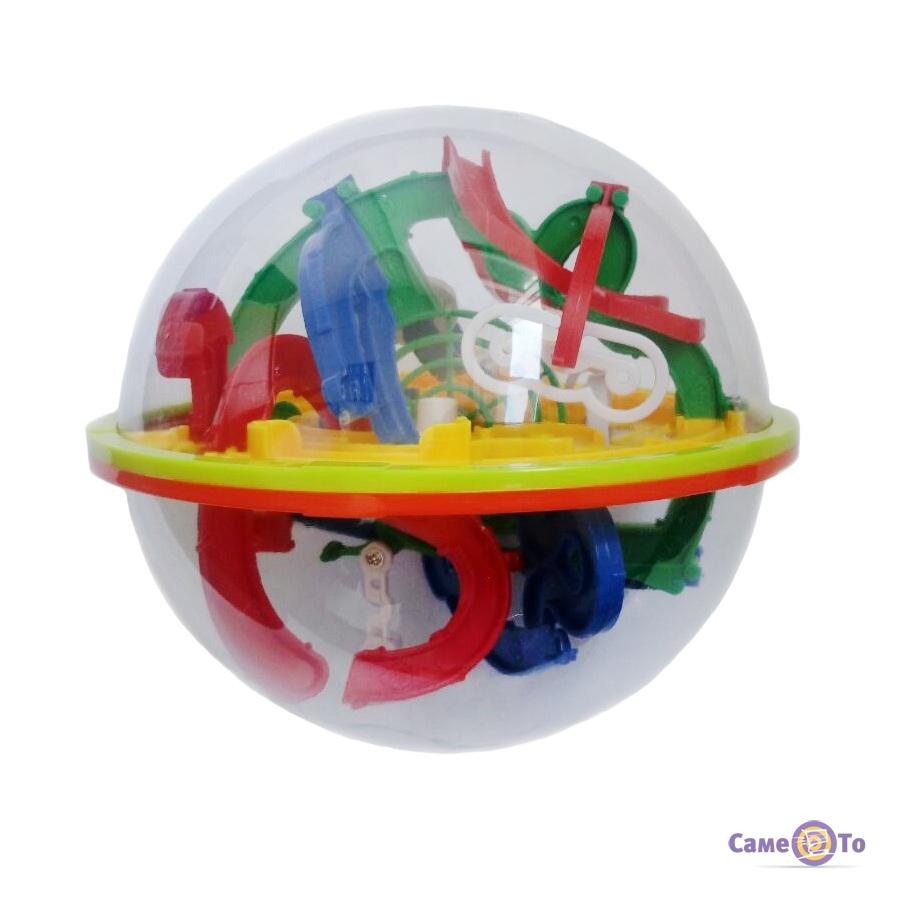 Дитяча головоломка Куля-лабіринт Magical Intellect Ball 927A, 118 кроків