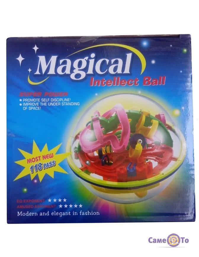 Детская головоломка Шар-лабиринт Magical Intellect Ball 927A, 118 шагов
