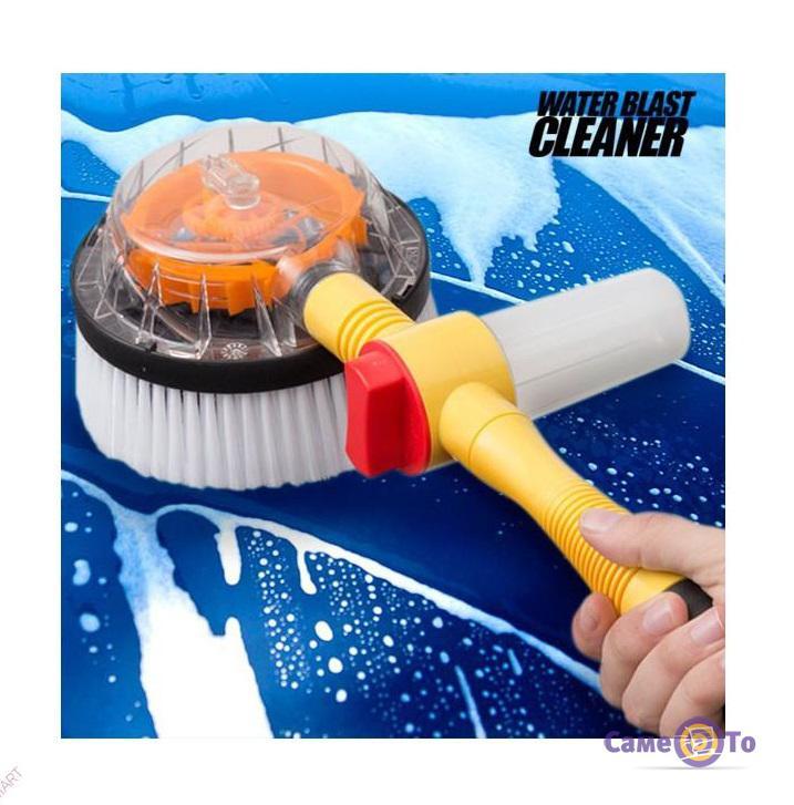 Щетка с насадкой для шланга вращающаяся Water Blast Cleaner