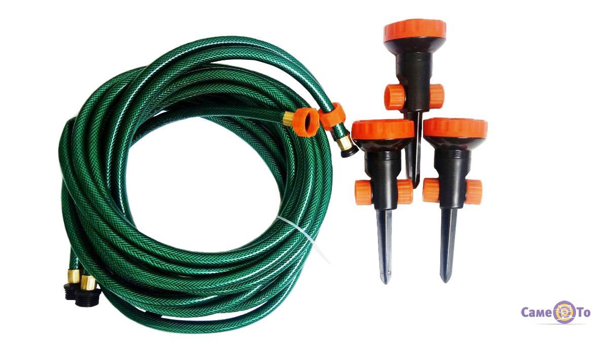 Спринклерная система автополива для сада Portable sprinkler system