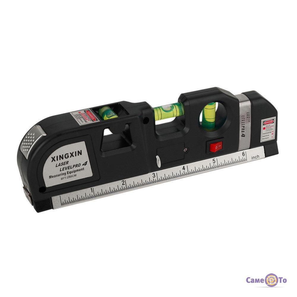 Будівельний лазерний рівень з рулеткою Xingxin Laser Levelpro 4