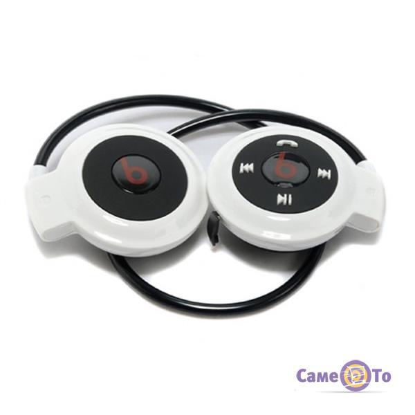 Спортивные беспроводные Bluetooth наушники с MP3-плеером mini-503 TF