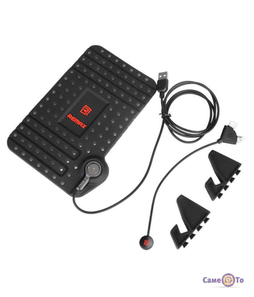Автодержатель для мобильного телефона с зарядкой Remax Superflexible Car Holder