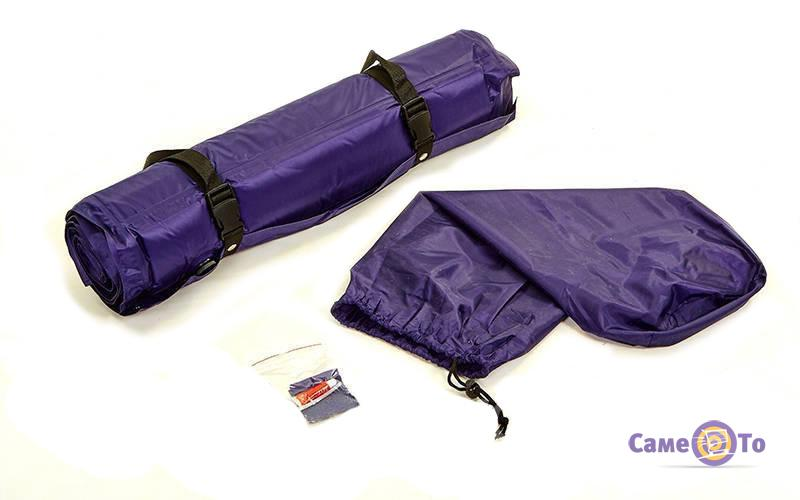 Туристический самонадувающийся коврик (каремат) для кемпинга