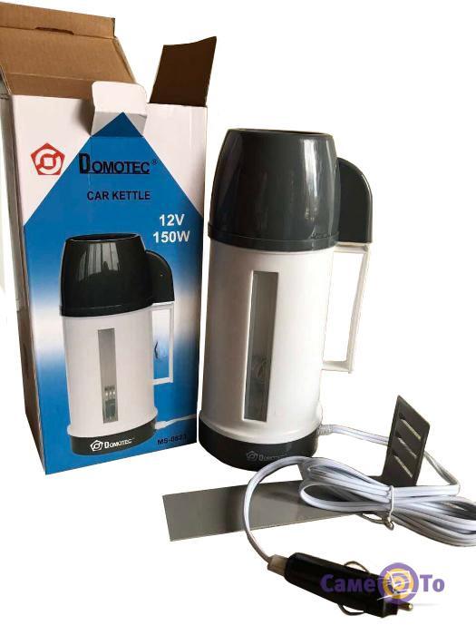 Дорожный автомобильный электрочайник Domotec MS-0823