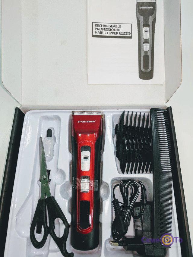 Профессиональная машинка для стрижки волос Sportsman SM-648