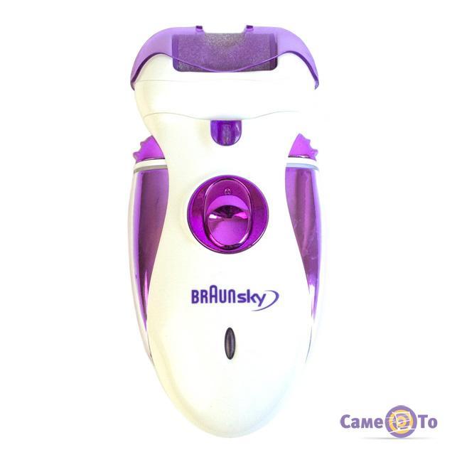 Женский электроэпилятор для ног и зоны бикини BraunSky BS-2020 4 в 1