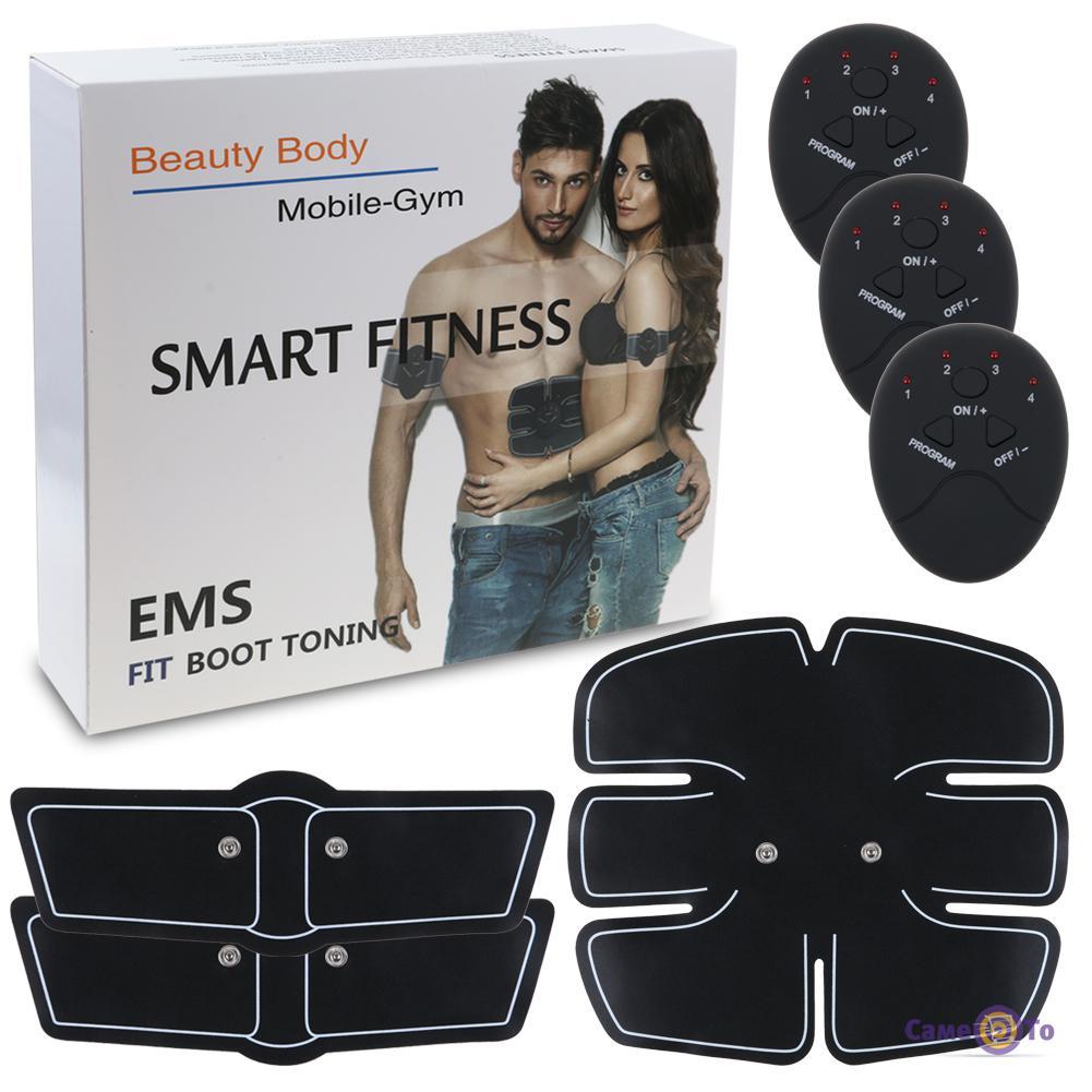 Тренажер для пресса - миостимулятор мышц Smart Fitness EMS fit boot toning