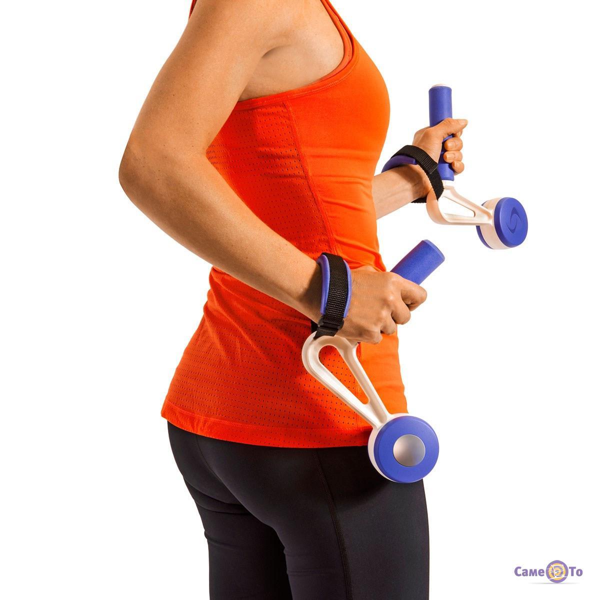 Гантели-утяжелители на руки для фитнеса Swing Weights