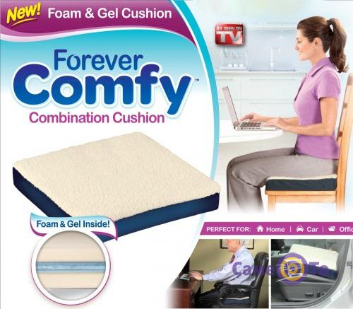 Ортопедическая гелевая подушка на стул Forever Comfy