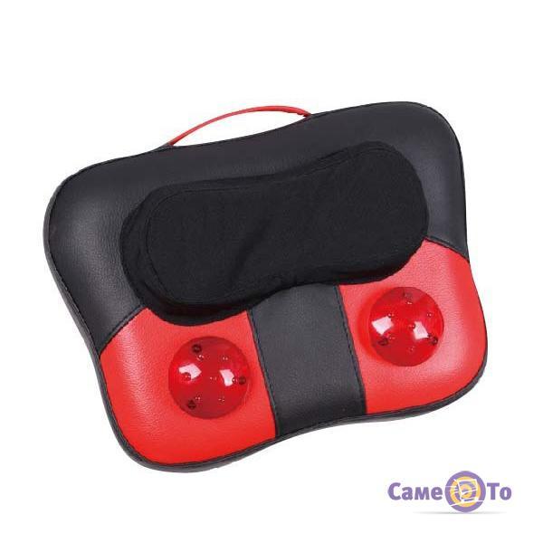 Подушка вибромассажер для тела, спины и шеи Kneading Cushion PL-809B
