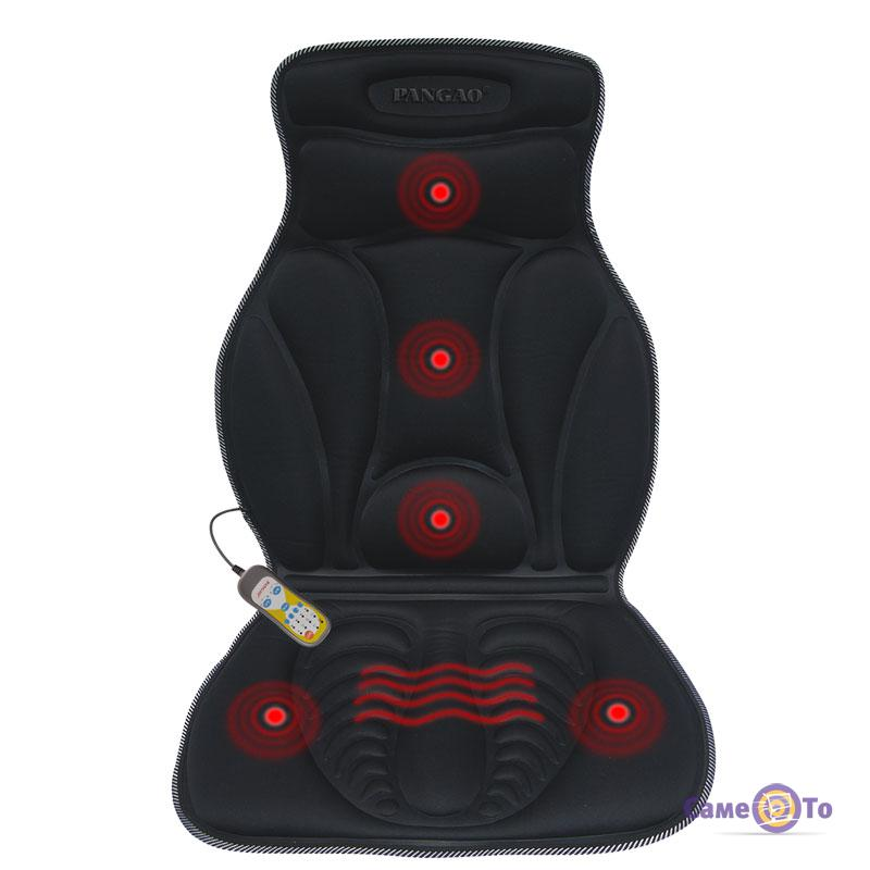 Массажная накидка на сиденье авто Pangao FM-9504B2