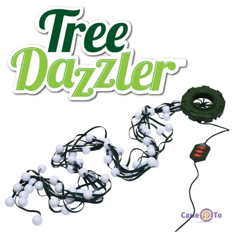Светодиодная гирлянда из лампочек LED Tree Dazzler новогодняя