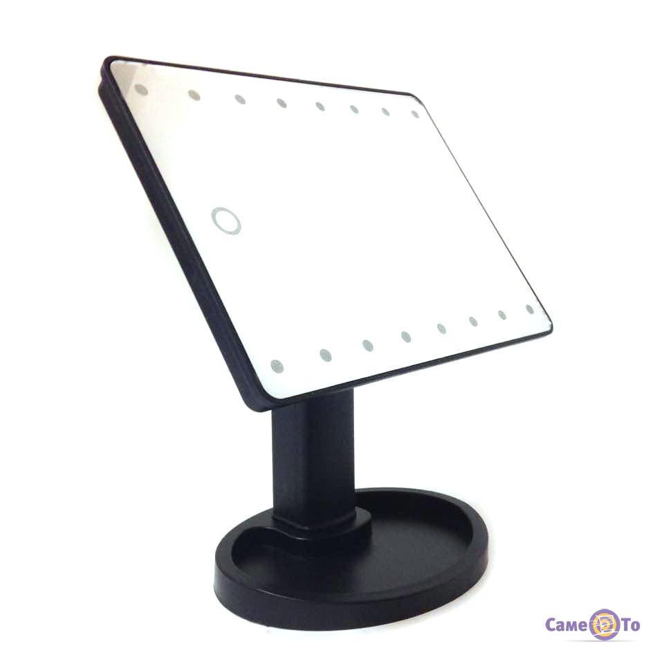 Косметическое настольное зеркало с подсветкой для макияжа Magic Makeup Mirror