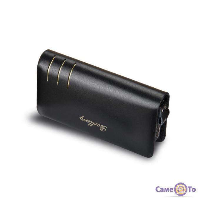 Мужской кожаный кошелек (портмоне-клатч) Baellerry S6111