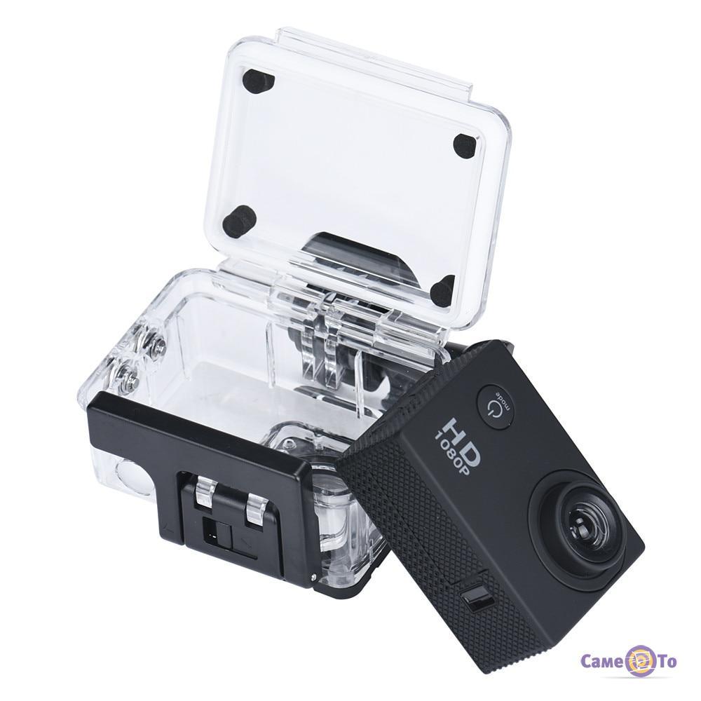 Спортивная экшн видеокамера с креплением на шлем A7 Sports HD 1080p