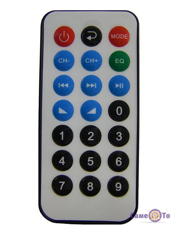 Акустическая система в автомобиль - Bluetooth колонка с сабвуфером UKC Super Subwoofer 1008BT