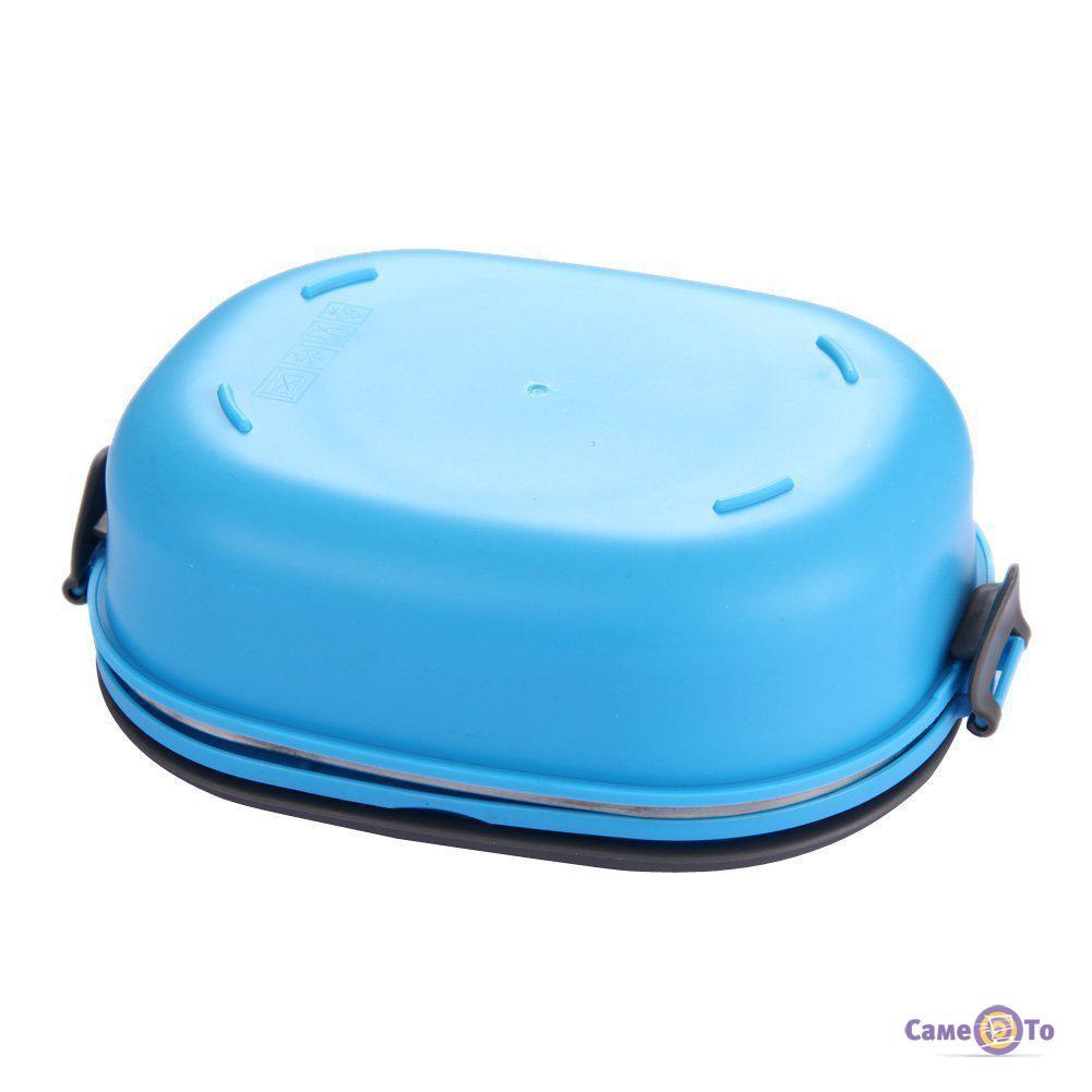 Пластиковый пищевой контейнер для еды (ланч бокс), 900 мл