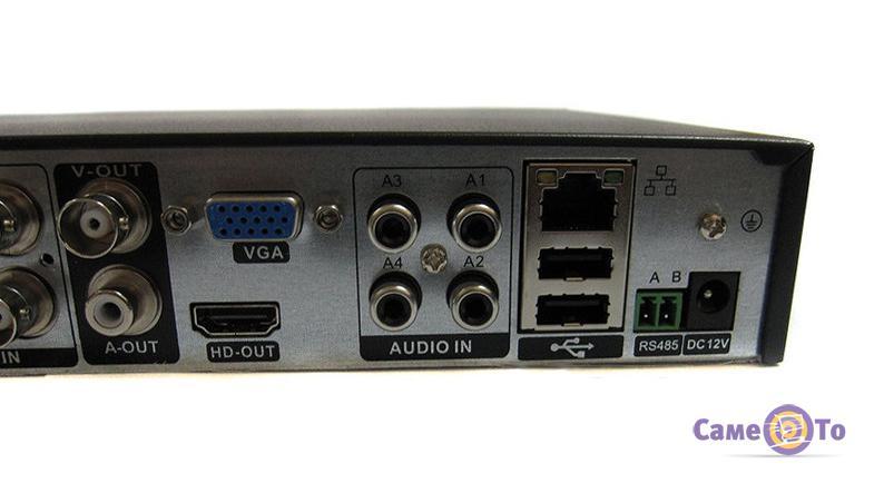 Комплект видеонаблюдения для дома 4 канальный на 4 камеры DVR CAD D001 KIT