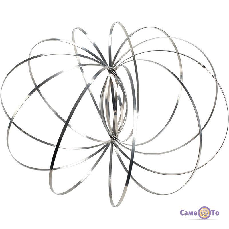 Игрушка антистресс - кинетические кольца-спираль Toroflux (Торофлакс)