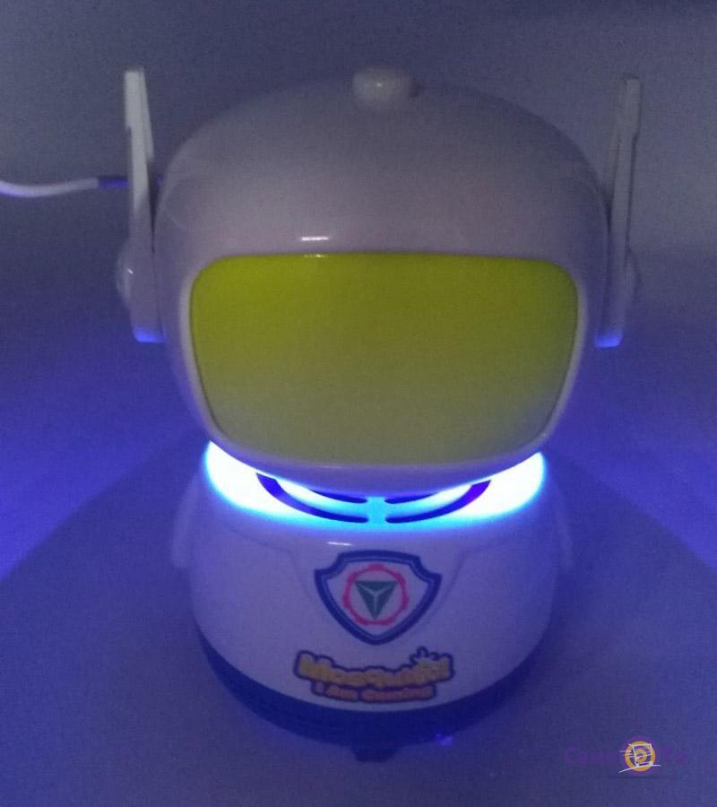 Ночник-лампа от комаров для дома Robot Mosquito lamp