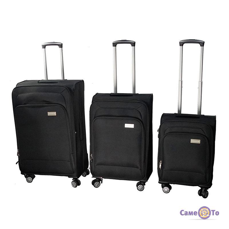Набор дорожных чемоданов на колесах LUGGAGE HQ, 3 шт.