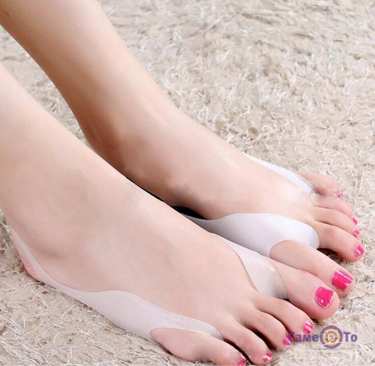 Ортопедические силиконовые накладки на пальцы ног