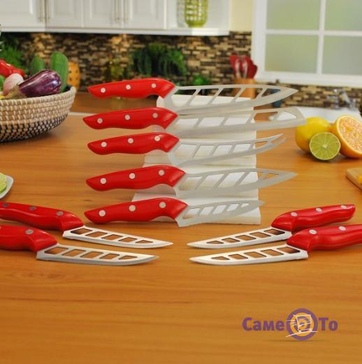 Набор професиональных кухонных аэро ножей, 9 шт.