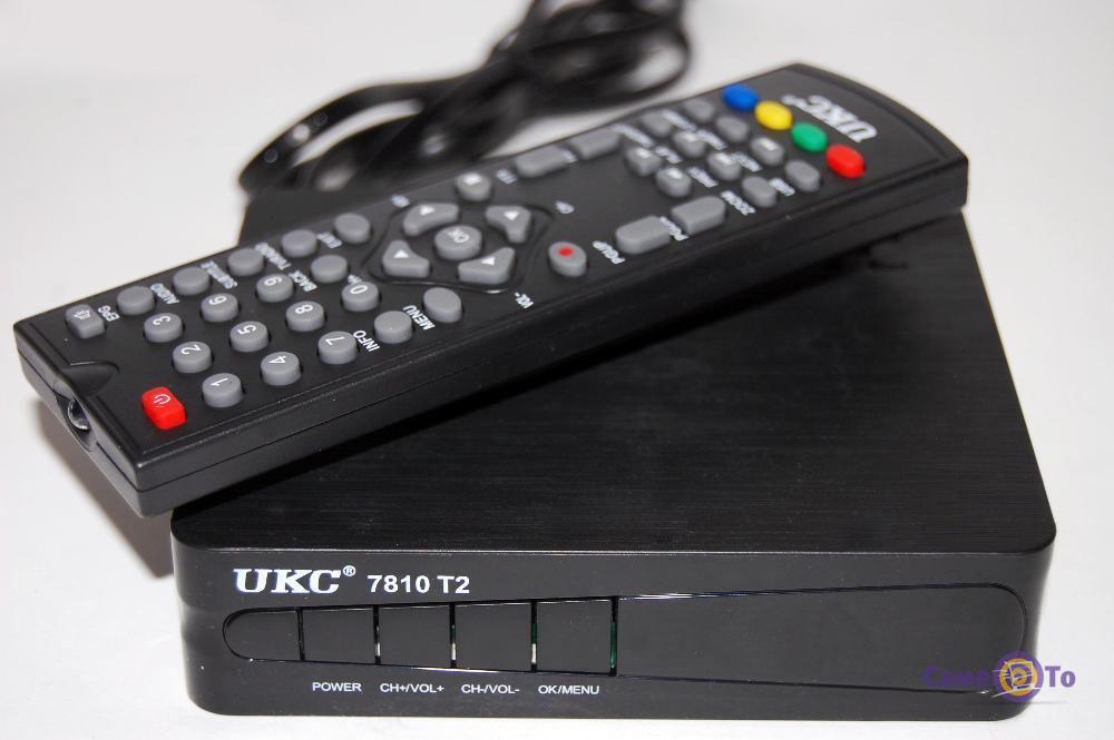 Цифровая приставка - ТВ тюнер для телевизора UKC 7810 T2