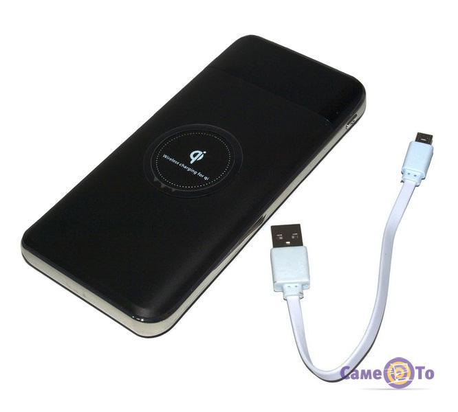 Беспроводное мобильное зарядное устройство для телефона Wireless Power Bank 27800mAh
