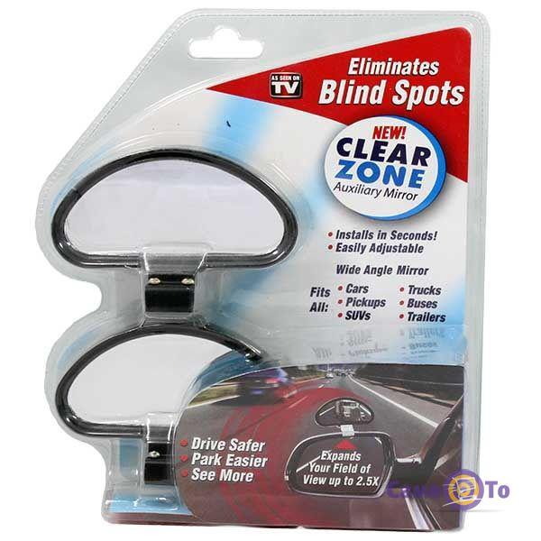 Додаткові бічні автодзеркала сліпої зони Clear Zone