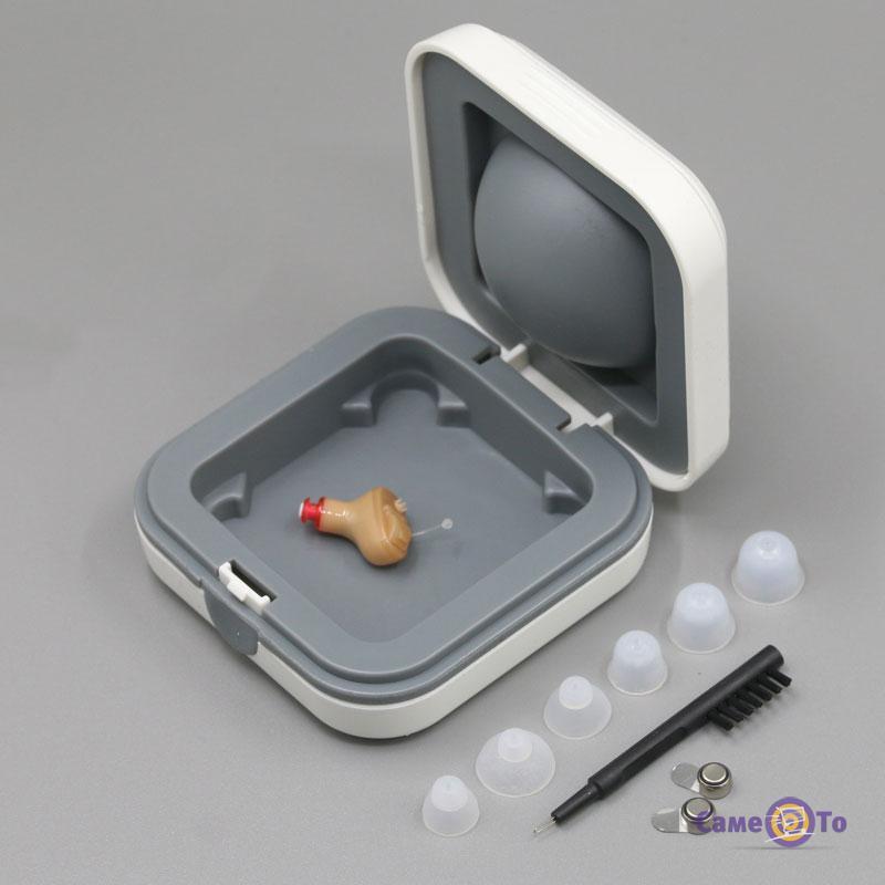 Слуховой аппарат (усилитель слуха), цифровой, внутриушной Axon A-111