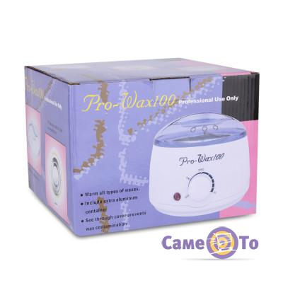 Баночный воскоплав для восковой депиляции и шугаринга Pro-wax 100