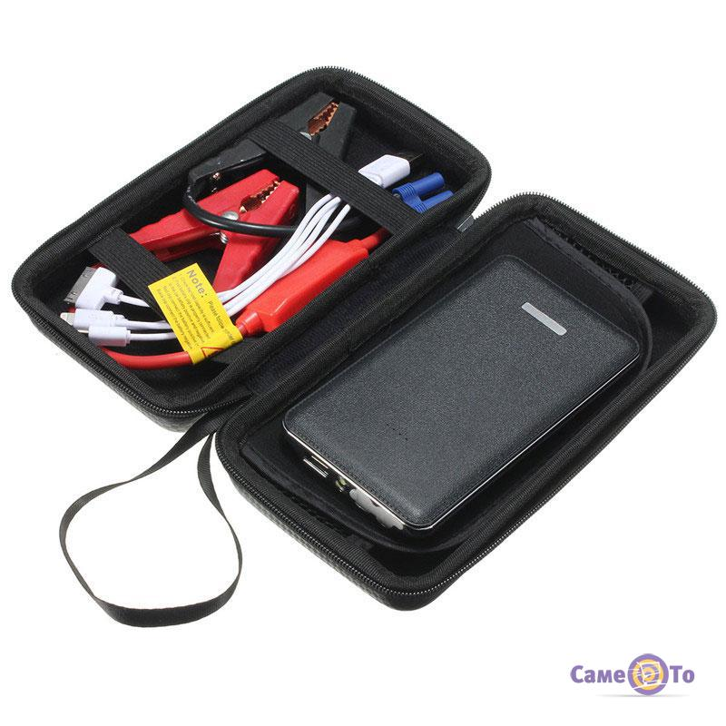 Портативное пусковое устройство для автомобиля Jump Starter Power Bank 6200 mAh