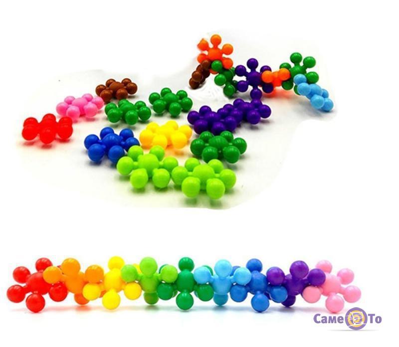 3D конструктор - пазлы для детей объемные, 200 деталей