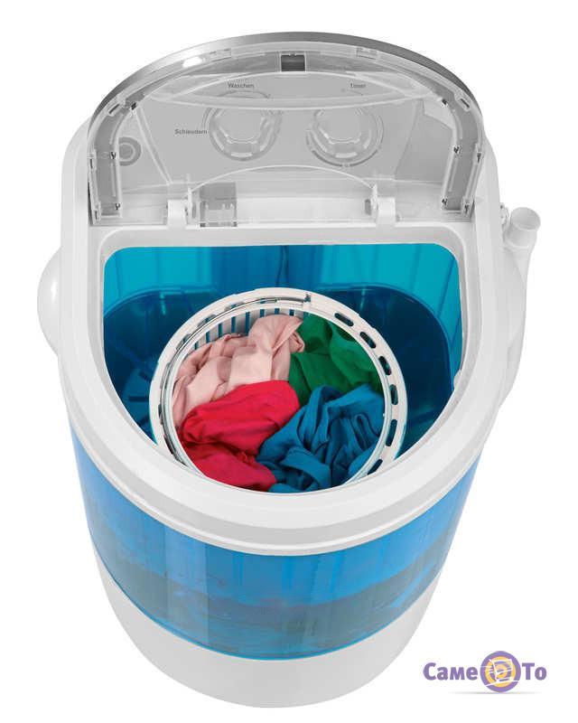 Маленькая стиральная машина полуавтомат Home Club, вертикальная