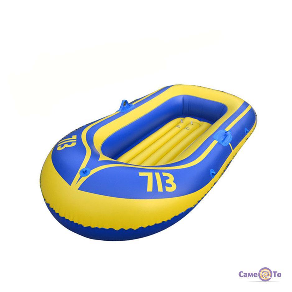 Надувная резиновая лодка с веслами на 2 места Two-man boat